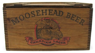Moosehead Beer, Canadian Lager.