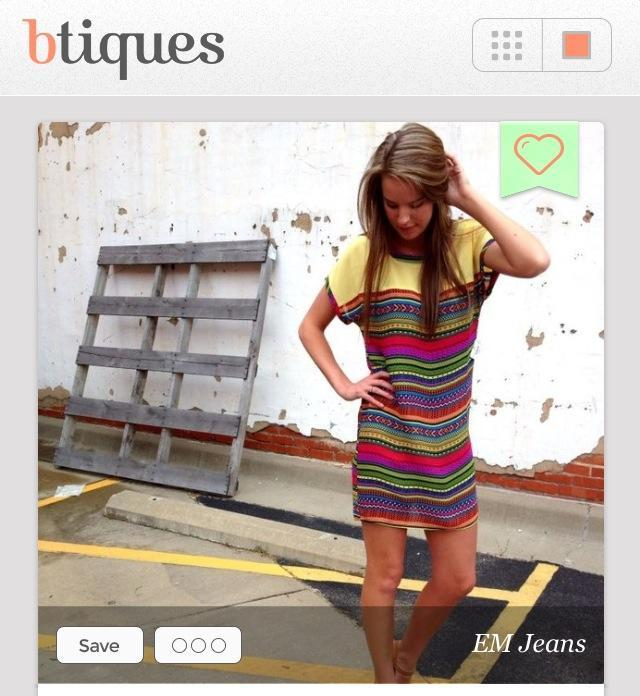check out my aunt sara's new app BTIQUES that just went live today and will soon be huge and awesome
