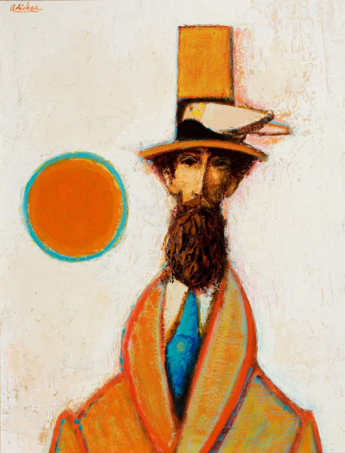 David Adickes, Portrait of a Gentleman.