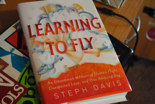 Just got Steph Davis' book today!  Can't wait 'til finals are over and I can read it! She's such an inspiration!