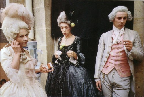 marilu-lu:  Behind the scenes of Marie Antoinette