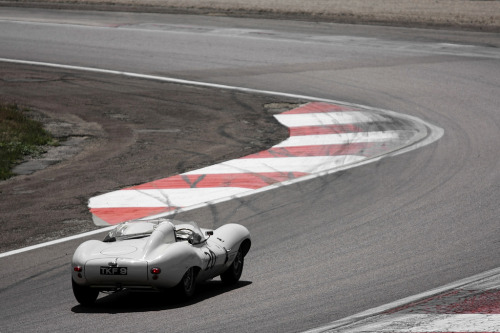 Jaguar D-Type Jaguar had a great deal of success with the D-Type. D-Types won Le Mans in 1955, 1956, and 1957.  Image by Victor Masson