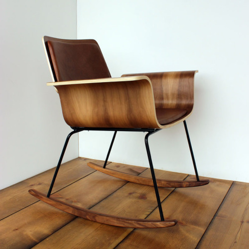themodernexchange:  Roxy Walnut Rocking Chair | Onefortythree