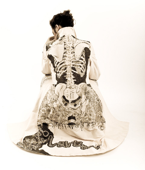 what-the-hell-is-steampunk:  anatomical coat created by Jamie Avis