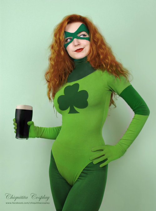 Shamrock (Marvel) by ~chiquitita-cosplay Happy St. Patrick's Day!