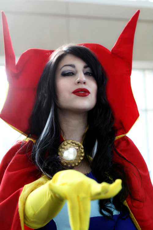 Cosplay Wednesday: Lady Doctor Strange Kick ass! Can't wait to see more photos from her photoshoot. I adore this cosplay. Cosplay by mechamelissa Photo by Chanh Tang