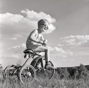 The coolest kid in Nova Scotia, ca. 1942.