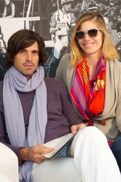 Drama Marks St. Regis International Polo Cup Nacho Figueras and Delfina Blaquier Photo by James Mason