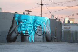 helloyoucreatives:  Beautiful LA graffiti