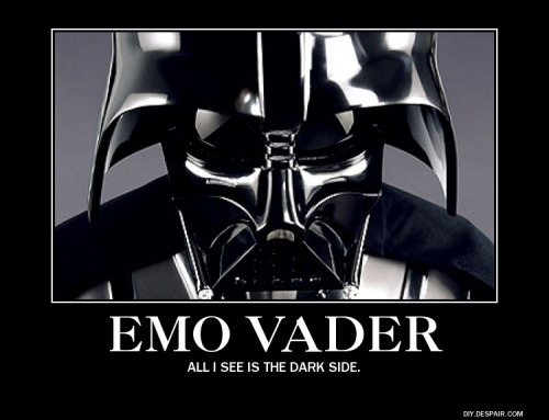 musicculture:  star wars themed guitar week: Monday bonus - Emo Vader