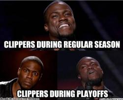 thenbamemes:  Tough luck, Clippers!