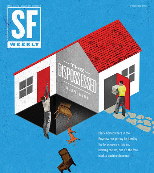 SF Weekly, May 2, 2012Art director: Andrew J. NilsenIllustration: Brian Stauffer