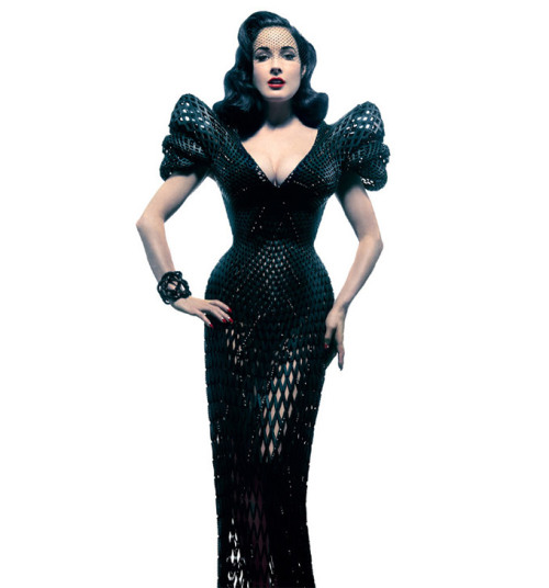 (via 3Dprinted dress for Dita Von Teese | Tech | Gear)