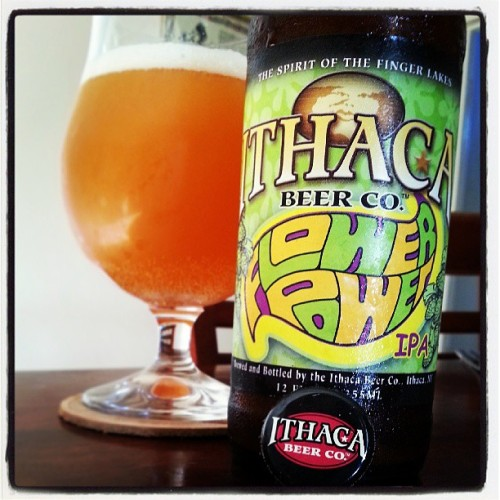 Thanks to @chato25 for this @ithacabeer #FlowerPower #IPA #CraftBeer Cheers! (at Two Towers)