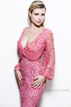 Pretty in Pink; actress Gigi Ravelli by Rayzor Sharp