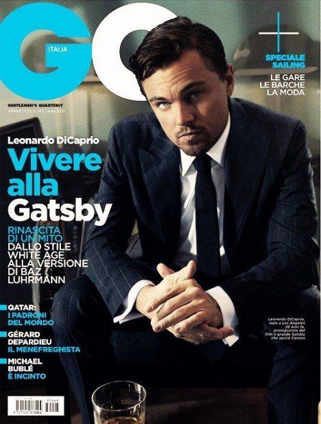 ohmygahhblog:  #LeonardoDiCaprio Lands GQ Italy Cover View Post