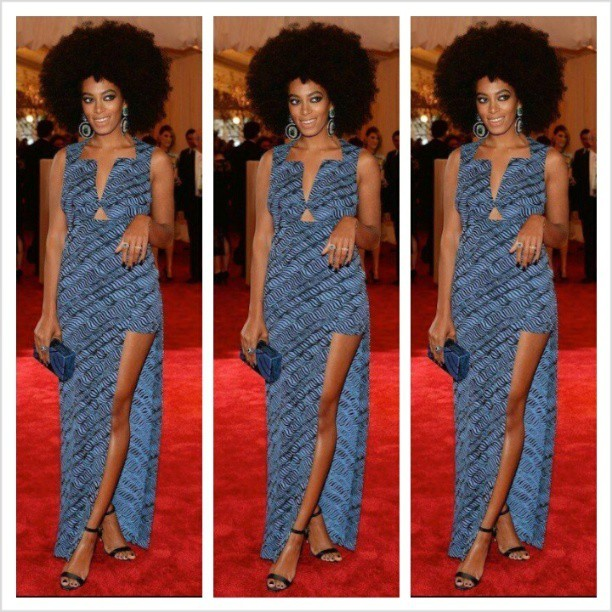#MetGala2013 #Solange #fashion #redcarpet