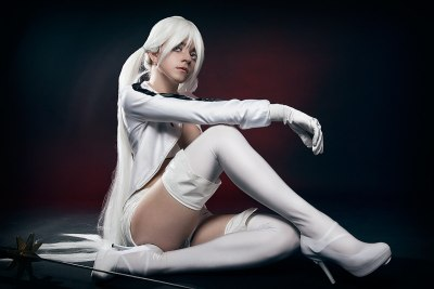 Cosplay of White Rock Shooter by Ytka Matilda Photographe Tray