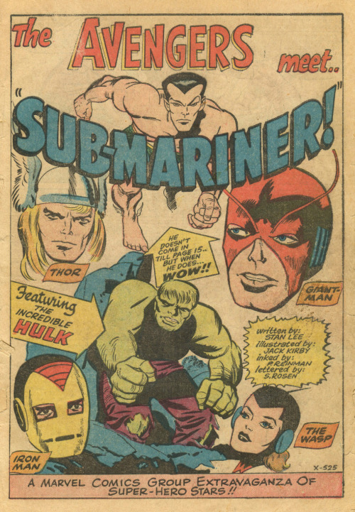 The Avengers and the Sub-Mariner