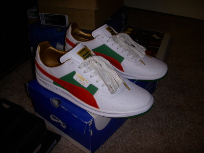 Gave my Puma's a Gucci makeover. Pretty basic.