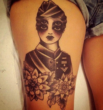 noirdelusion:  TATTOO by SARAH B BOLEN