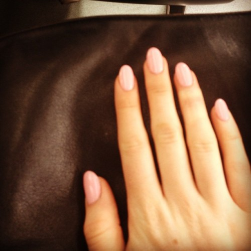 #acrylics #new #nails #kingston #inails #birthday #present #manicure #pink #pretty #round #girly #spa #beauty #fashion #sunday #hands