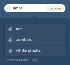 umbcmemes:  Why are these the tags Tumblr says are related to UMBC?