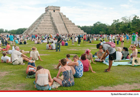 Just some dumbasses swarming a Mayan Temple before 12/21/12. On a more serious note: It was nice knowing all of you.