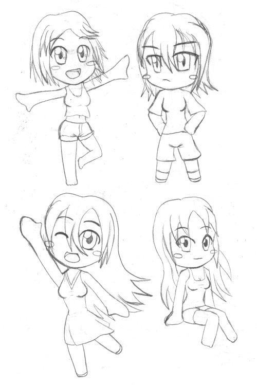 Just some Chibis I drew while ARMA 2: Operation Arrowhead was installing Scanned them and uploaded them while ARMA 2: Operation Arrowhead was uninstalling.
