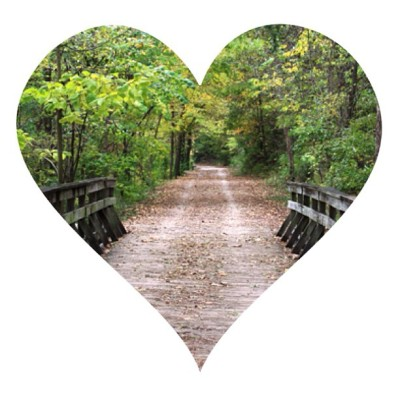 Walks on the M.K.T. Trail. {the things i love}