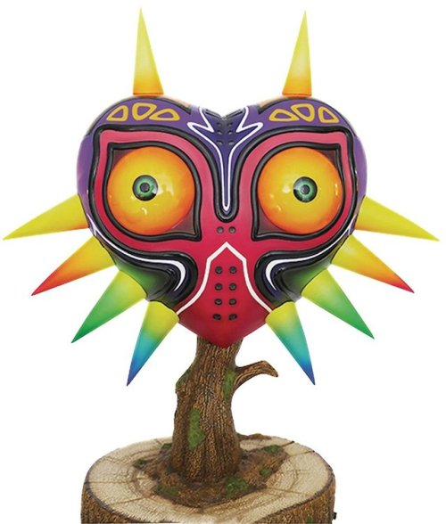 The Legend of Zelda: Majora& 039;s Mask collectable Life Size gaming videogames Nintendo 3DS 2DS N64 SKull Kid Nintendo Switch