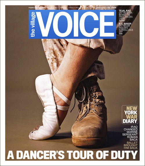 This week's cover: A Dancer's Tour of Duty. Iraq changed Marine Sergeant Roman Baca — ballet brought him back.