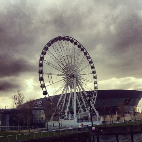at The Liverpool Big Wheel
