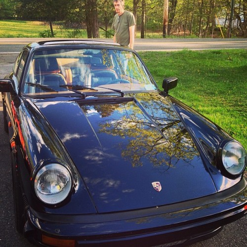 A #Porsche visit in #saugerties #catskills #hudsonvalley (at Mount Marion)