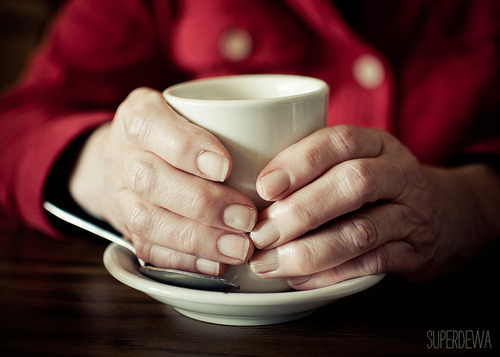 my mother's hands by SuperDewa on Flickr.