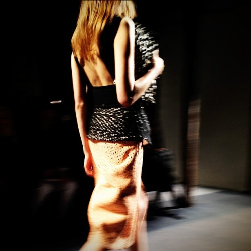 The #NYFW saviours! Exquisite textures, exotic skins and asymmetry @ProenzaSchouler.