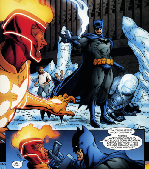Oh Batman, standing up to young Black heroes (with powers of a god). lol