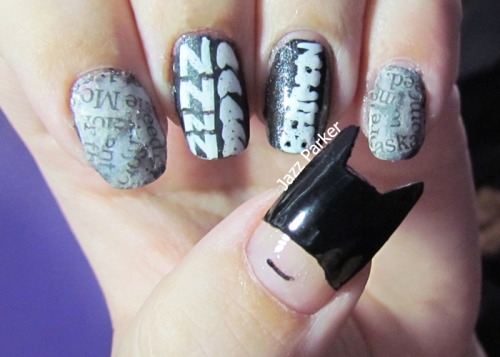 nailpornography:  submitted by nailartbyjazz