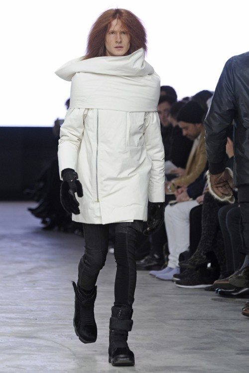Footwear Highlights Paris Men's Fashion Week Rick Owen's RTW Fall 2013