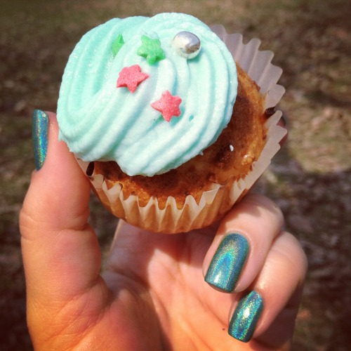 cupcake made by our friend Elya