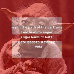 Wise words from a wise Jedi #jedi #yoda #starwars #wisequote #quotestoliveby #quote by loiszuger http://bit.ly/XMnfu6