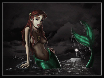 Princess Ariel by ~CamusAltamirano