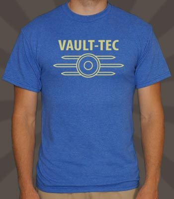 (via Vault Tec T-Shirt | TV & Movie Tees | 6 Dollar Shirts)