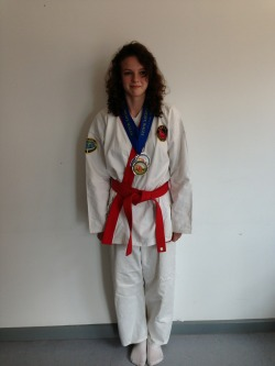Congratulations to Jade Williams for winning GOLD in weapons and two SILVER medals in forms and fighting #donotmess