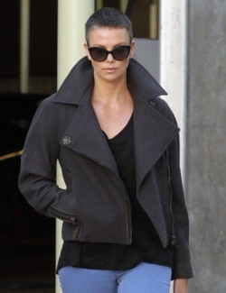 Charlize Theron's Short Hair/