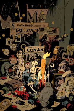 Dark Horse Twenty Years Special // Mike Mignola