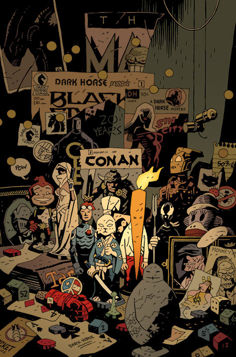 brianmichaelbendis:  Dark Horse Twenty Years Special // Mike Mignola   Wow…