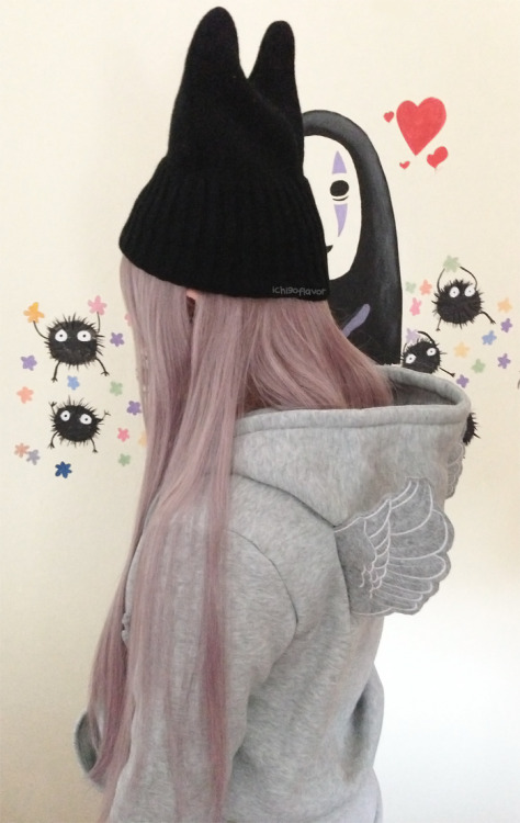 ichigoflavor:   Winged Hoodie Review Below!~  Read More