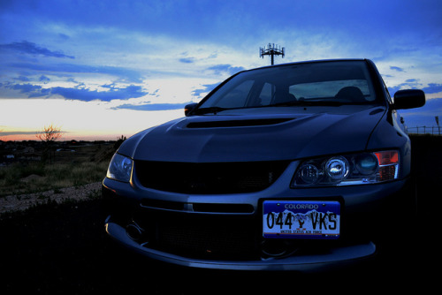 awd-doitonallfours:  Mitsubishi Evo 9. Photo by me.