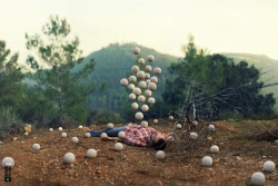 "THE ""SURREALISTIC PILLOW"" PROJECT- PHOTOGRAPHY BY RONEN GOLDMAN"